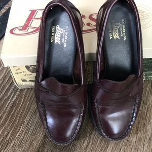 Vintage Bass Cordovan Loafers - Kids